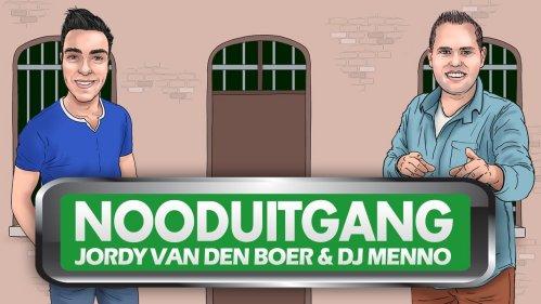Cover Jordy van den Boer & DJ Menno nooduitgang
