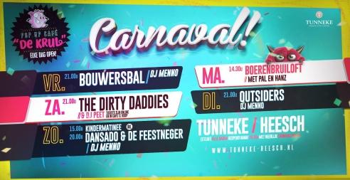 Carnaval vrijdag 2019
